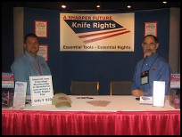 Knife Rights Blade Show Booth