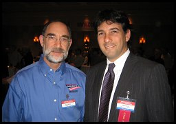 Knife Rights Chairman Doug Ritter with attorney Alan Gura of Heller Decision fame.