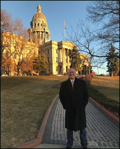 Todd Rathner at Colorado Capitol