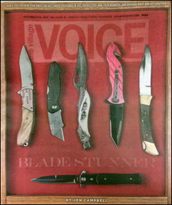 The Village Voice Front Page Oct. 8, 2014