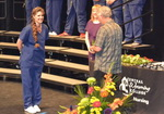 Audra graduating from Nursing School