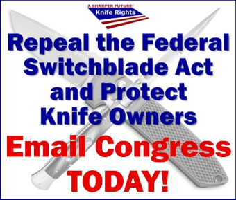 Repeal the Federal Switchblade Act